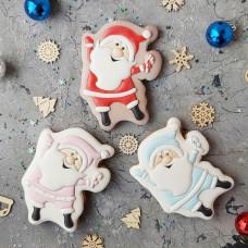 Новогодние пряники Дед Мороз