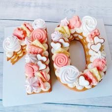 Торт цифра 10 лет