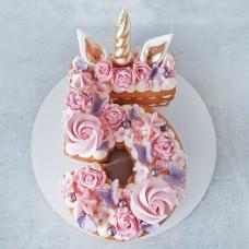 Торт-цифра 5