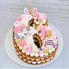 Торт единорожка 6 лет