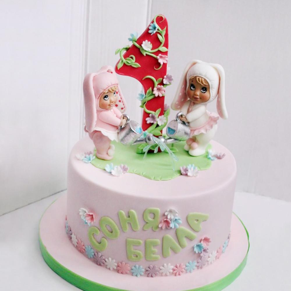 Торт для двойни