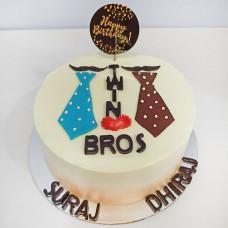 Торт для братьев близнецов