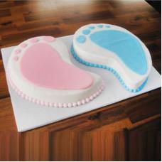 Торт на день рождения двойняшкам