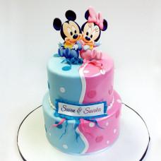Торт для двойняшек 5 лет