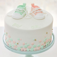 Торт для двойняшек девочек