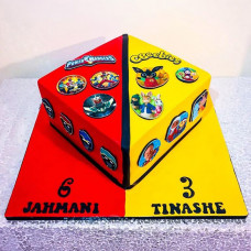 Торт на день рождения двойняшкам мальчикам
