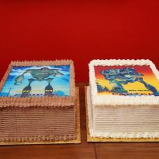Торт на год двойняшкам мальчикам