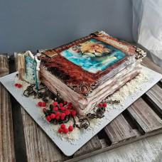 Торт книга Хроники Нарнии