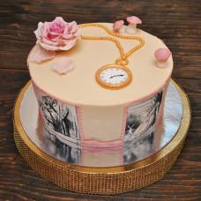 Торт дочке по сказке Алиса в стране чудес
