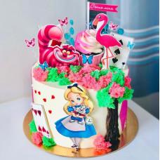 Сказочный торт Алиса в стране чудес