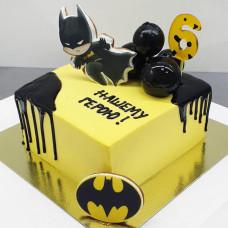 Торт человек-летучая мышь