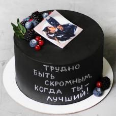 Торт с Бэтменом мужу на день рождения