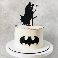 Торт Бэтмен и Женщина кошка