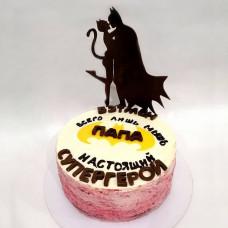 Торт в стиле Бэтмена