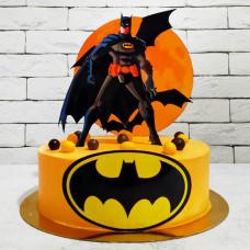 Торт в виде Бэтмена
