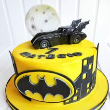 Торт автомобиль Бэтмена