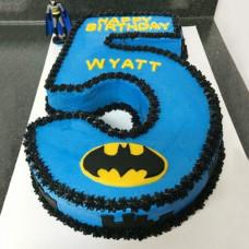 Торт цифра Бэтмен