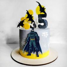 Торт Бэтмен на 5 лет