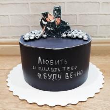 Торт Бэтмен мужчине