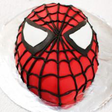 Торт лицо Спайдермена