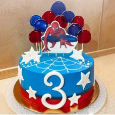 Торт Человек паук 3 года