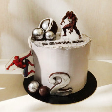 Торт Человек паук и Веном