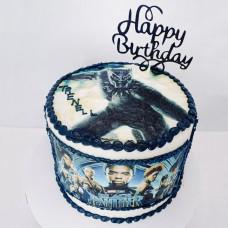 Торт с Черной пантерой