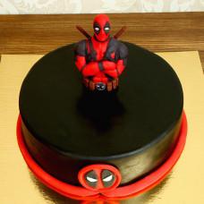Торт Дэдпул на день рождения