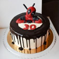 Торт Deadpool на юбилей мужчине