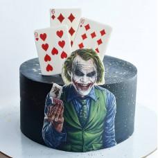 Торт с Джокером