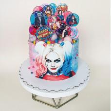 Торт для девочки с Харли Квинн