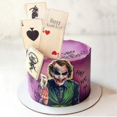 Торт Джокер и карты
