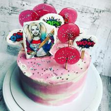 Торт Харли Квинн