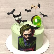 Торт Джокер на 9 лет