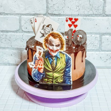 Торт Джокер на 10 лет