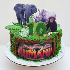 Детский торт Джуманджи