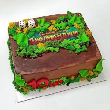 Торт Джуманджи на день рождения