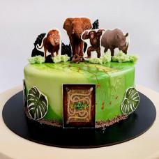 Торт Джуманджи Зов джунглей