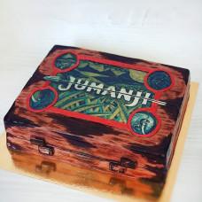 Торт в виде игры Джуманджи