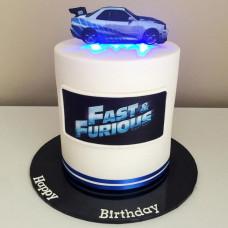 Торт в стиле Форсаж