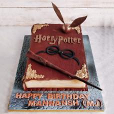 Торт в виде книги Гарри Поттер