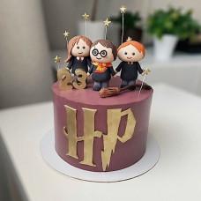 Торт с Гарри Поттером на день рождения