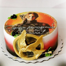 Торт для поклонников актрисы Дженнифер Лоуренс