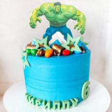 Кремовый торт Халк