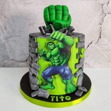 Торт мальчику Халк