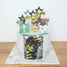 Торт Халк без мастики