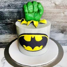 Торт Халк Бэтмен