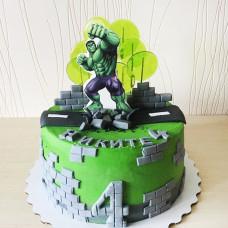 Детский торт Халк