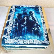Торт книга Игра престолов