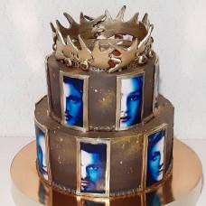 Двухъярусный торт Игра престолов